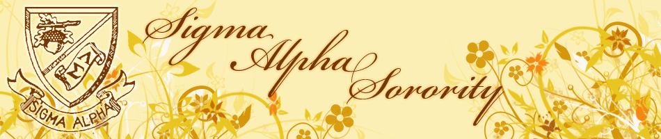Sigma Alpha Sorority